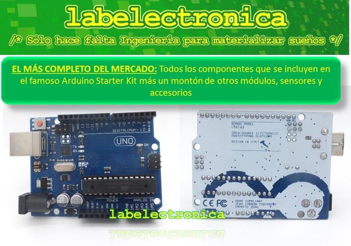 Arduino starter kit uno o mega básico libros