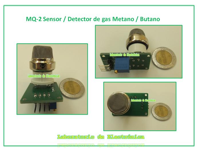 M dulo detector de metano butano sensor gas natural gas for Detector de gas natural